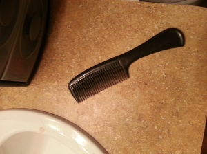 Notice how it looks like a comb