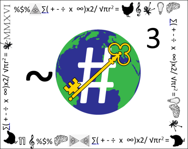 Numeronology Logo with Border