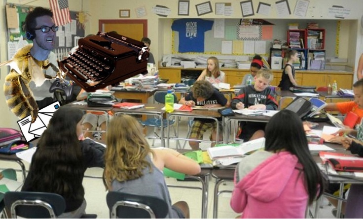 BeeJert Typewriter Classroom Full