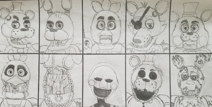 Ultimate Custom Night - FNAF by Quinn Wilson