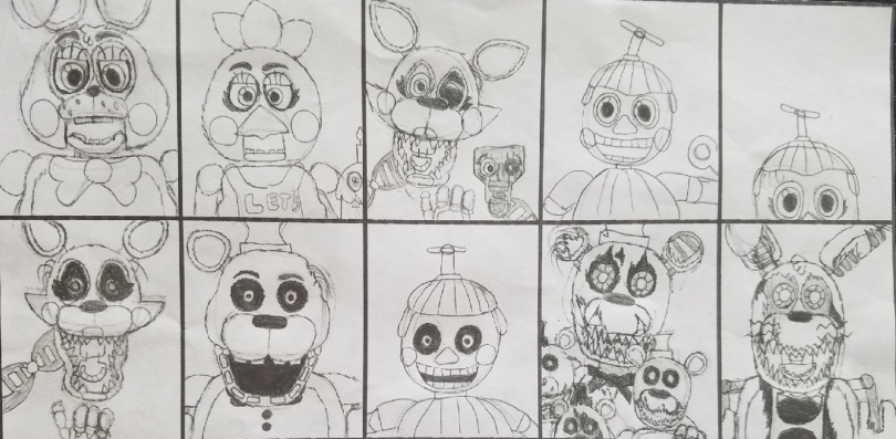 Ultimate Custom Night, page 2 – FNAF by Quinn Wilson